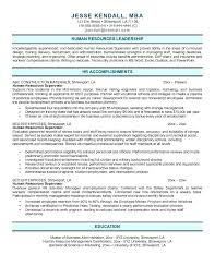 free sample human resources manager resume supervisor example word