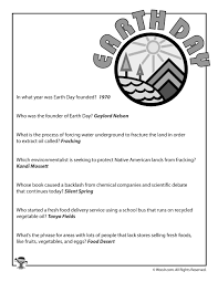Earth Day Quiz Answers Woo Jr Kids Activities