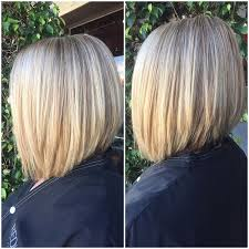 brown and blonde ombre with a line hair cut 22 most popular a line bob hairstyles pretty designs