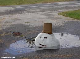 Snowman Meme - funny melting snowman picture