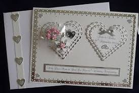 60th wedding anniversary card box personalised choice of