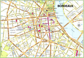 St Malo France Map by Bordeaux City Center Map