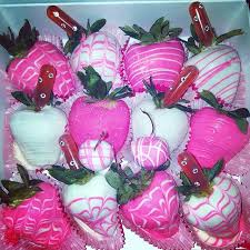 White Pink Chocolate Covered Strawberries Pink U0026 White Chocolate Covered Strawberry Design Www Nikkietreats