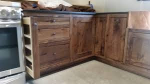 black walnut wood kitchen cabinets inset rustic black walnut kitchen by finewoodbutcher
