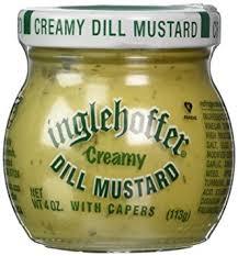 dill mustard inglehoffer dill mustard 4 0 oz mustard