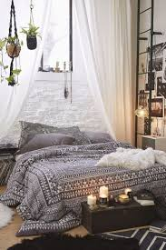 suspended bed apartment bedroom modern bohemian studio flat with suspended bed