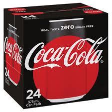 Coca Cola Six Flags Promotion Coca Cola Zero Cans 375ml 24 Pack Officeworks