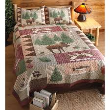 moose lodge quilt set 3 pieces 210458 quilts at sportsman u0027s guide