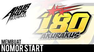 gambar desain nomer racing tutorial corel draw design nomor start racing akurakus youtube