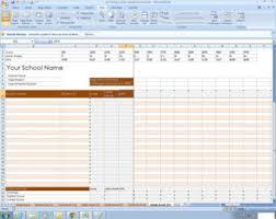 Grade Book Template Excel Grade Book Etsy