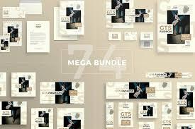 mega bundle men u0027s fashion templates creative market