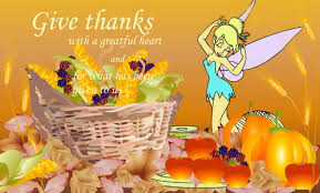 thanksgiving cards tinkerbell thanksgiving cards