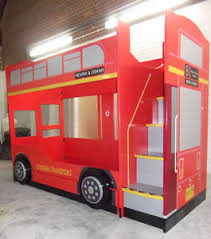 Bus Bunk Bed London Bus Bed Kids Bunk Beds Childrens Bus Bunk Bed - Ebay bunk beds for kids