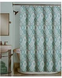 Cloth Shower Curtains Deals On Peri Fabric Shower Curtain Blue Charcoal Aqua Light Gray