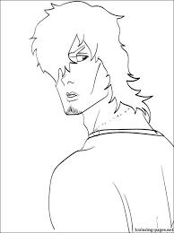 yasutora sado bleach coloring page coloring pages