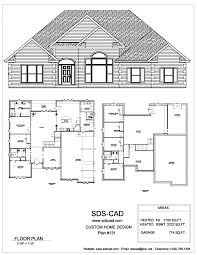sample house plans house rear elevation view for study free