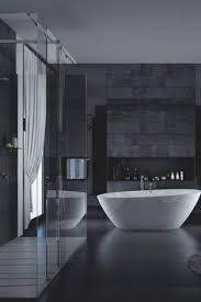 Some Beautiful Dark Bathrooms Styled By Swedish Stylist Lotta - Black bathroom designs