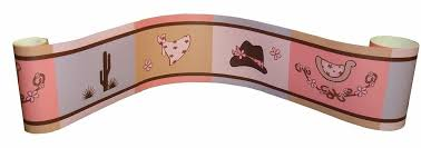 wall border for western cowgirl baby bedding set by sisi ebay