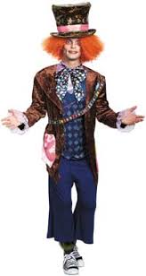 mens costumes men s costumes mad hatter rhet butler willy wonka