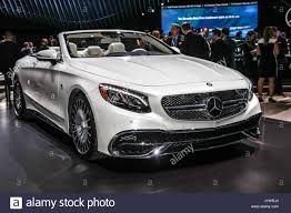 luxury mercedes maybach mercedes benz maybach s 650 cabriolet shown at the new york stock