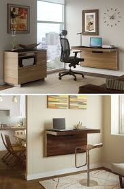 Small Desk 16 Wall Desk Ideas That Are Great For Small Spaces Contemporist
