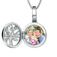 Personalized Photo Locket Necklace Compare Prices On Engraved Silver Lockets Online Shopping Buy Low