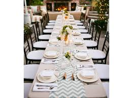 chemin de table mariage 50 idées déco pour une table de mariage décoration