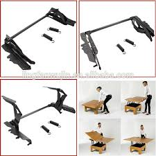 lift up coffee table mechanism with spring assist coffee table hinge heavy duty spring assisted lift pull up buy