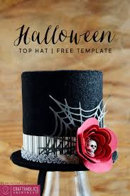 free halloween template craftaholics anonymous easy halloween top hat with free template