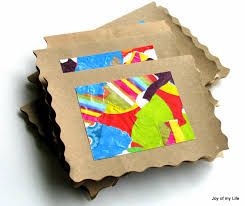 the joy of my life and other things kids art recycled wrapping