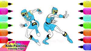 how to draw blue ranger from power rangers ninja storm drawings