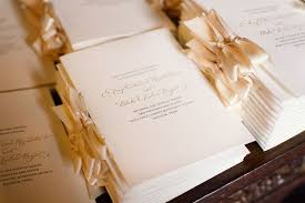 programs for a wedding ceremony wedding ceremony ideas archives southern weddings