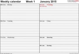 excel templates daily planner week day planner template expin franklinfire co