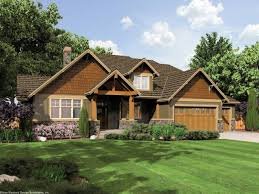 home design single story craftsman style homes fireplace