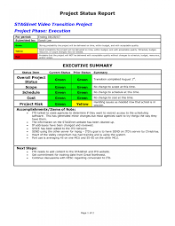 project monthly status report template monthly project progress report template awesome project status