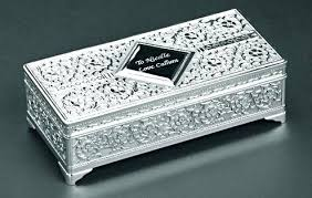 engravable box engravable jewelry boxs monogrammed white wood hinged jewelry