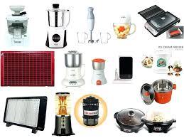 list of kitchen appliances small kitchen appliances list for designs of ideas top ten