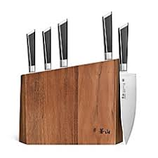kitchen knives holder knife block storage pocket racks more bed bath beyond