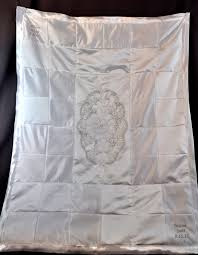 wedding dress quilt wedding dress converted to baby blanket fairy godmother creations
