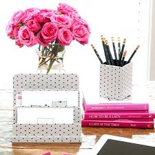 Pink Desk Organizers And Accessories Desk Organizers Office Desk Accessories Set Office Depot Desk