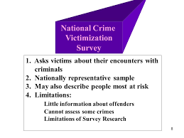national sample survey reports 1 methods of measuring crime uniform crime reports self report