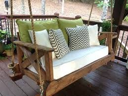 diy wooden garden swing building a garden swing frame 56 diy porch