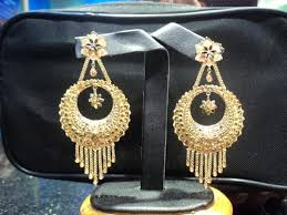 bengali gold earrings gold earrings gold earring manufacturer from midnapore