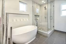 bella vista modern master bathroom h2h