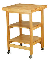 modern butcher block cart two shelves yellow birch color solid full size of kitchen modern butcher block design top offers 4 sq natural color solid