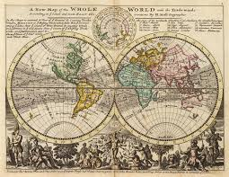 Fsu Map File Moll A New Map Of The Whole World With The Trade Winds Png