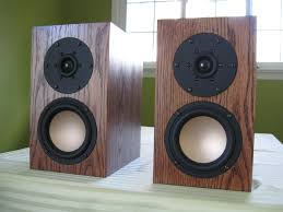 hand made f003 bookshelf speakers by span audio custommade com