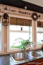 Kitchen Window Curtain Ideas by Best 25 Farmhouse Style Kitchen Curtains Ideas On Pinterest