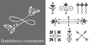 flourishes ornaments webfont desktop font myfonts