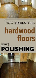 removing scratches from a wood floor one part vinegar three